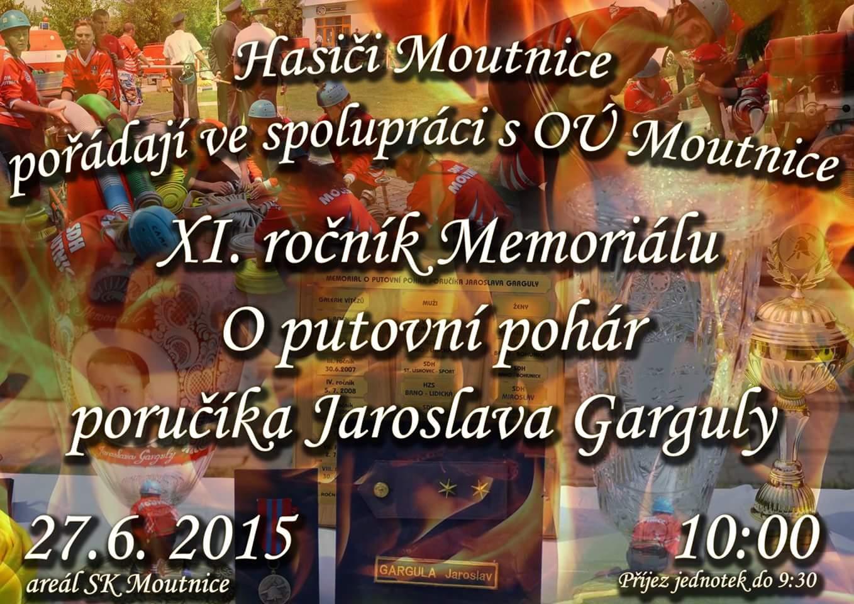 Pozvánka memoriál 2015